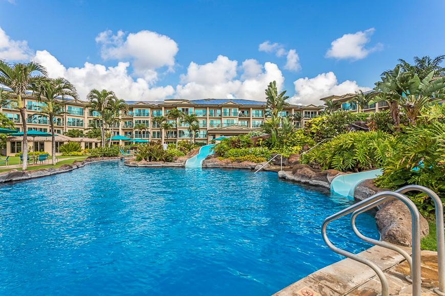 Waipouli Beach Resort pool