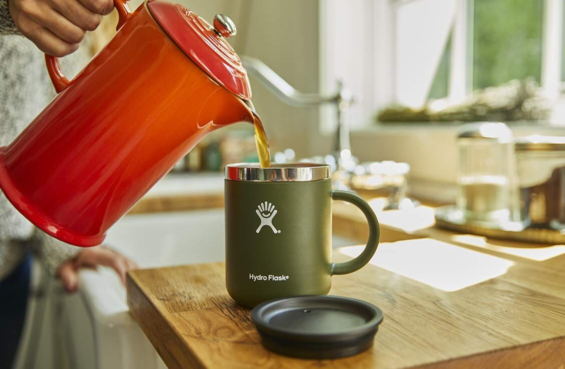 hydro flash coffee mug