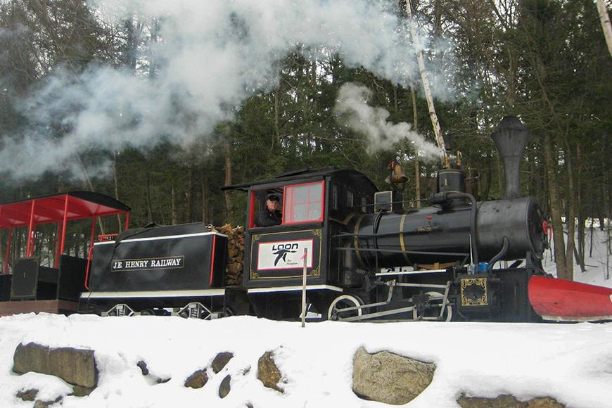 J.E. Henry Railroad, Loon, New Hampshire