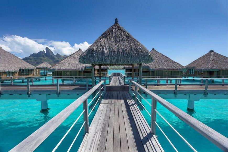 The St. Regis Bora Bora Resort.