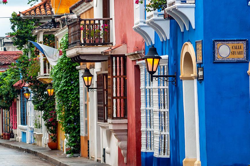 View of Cartagena de Indias, Colombia  R By