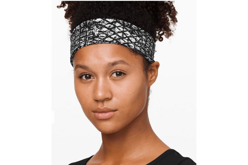 lululemon headband.