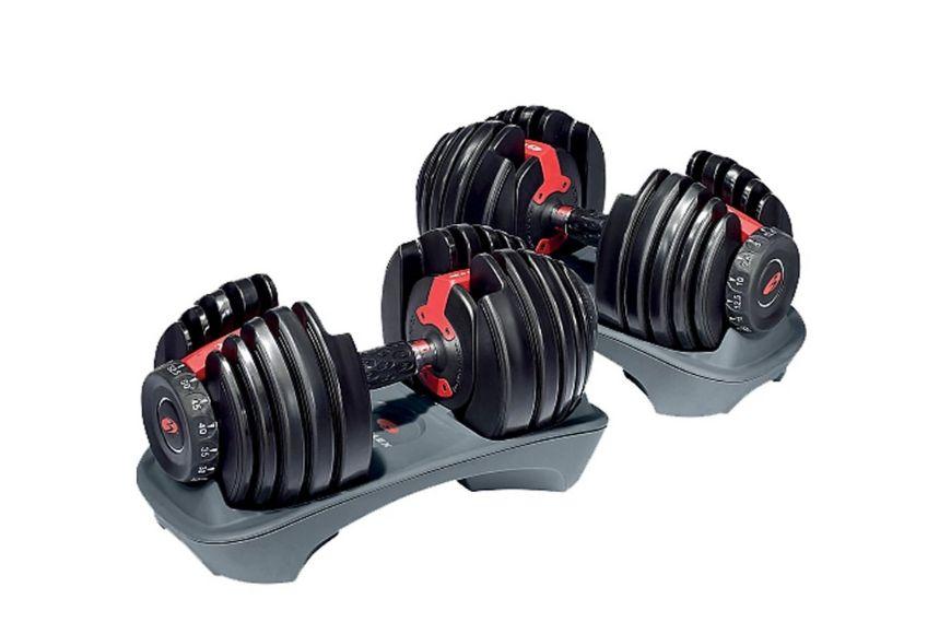 Bowflex SelectTech 552 Adjustable Dumbbells.