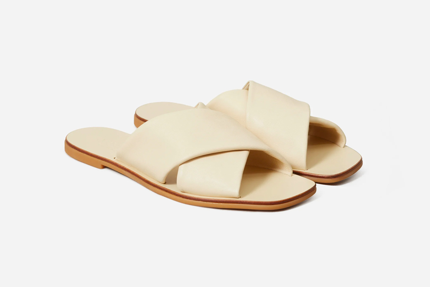 Everlane The Day Crossover Sandal.