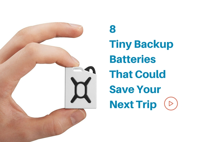 8 tiny backupbatteries thatcould save your trip