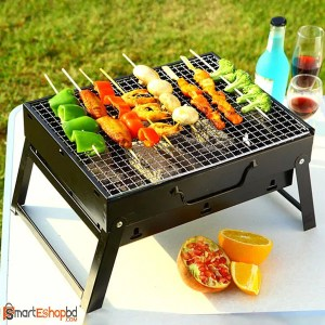 Portable Outdoor BBQ Barbecue Grills Burner Oven Garden Charcoal Barbeque Patio Party Cooking Foldable Picnic