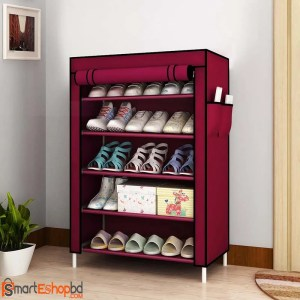 Dustproof Non-Woven Fabric Shoes Rack Shoes Organizer Home Bedroom Dormitory Shoe Racks Shelf Cabinet