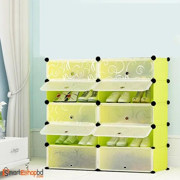 portable Plastic Shoe Cabinet