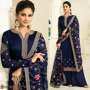 Plazzo style Salwar kameez