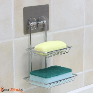 Double Layers Soap Holder Magic Sticker