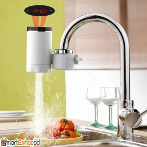 Hot Water Faucet Heater Tap With Indicator Light/LCD Display