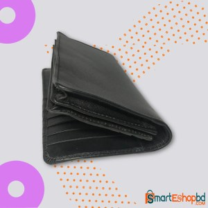 Genuine leather long leather wallet