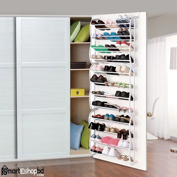 Over The Door Hanging Shoe Rack