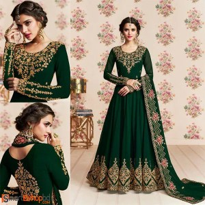 Green anarkali Suits