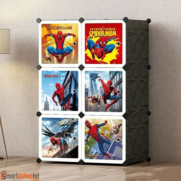 Spiderman Portable Plastic Wardrobe