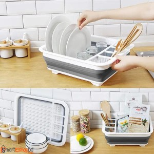 Collapsible Dish Drying Storage Rack