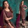 Purple and Violet Salwar Kameez