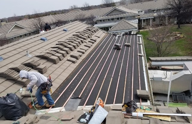 Kansas City Tile Roof Repair Contractor