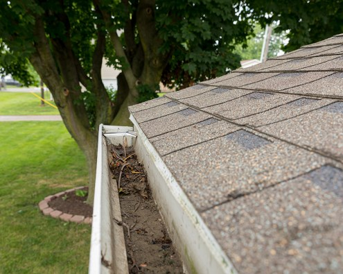 gutters be cleaned