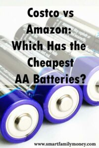 Costco vs Amazon: Which Has the Cheapest AA Batteries