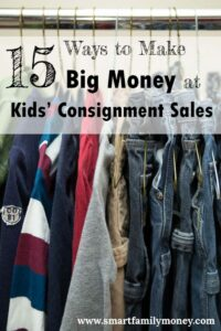 Wow! I made $300 at my kids' consignment sale using these tips!