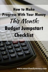 This budget checklist is great! It really helped me get my family's finances on track.