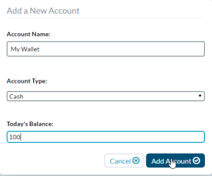 YNAB Cash Account