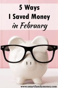 This post gave me some great ideas on how to save money in February!
