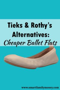 Tieks Rothy's Alternatives Cheaper Ballet Flats