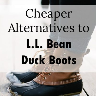 Cheaper Alternatives to L.L. Bean Duck Boots