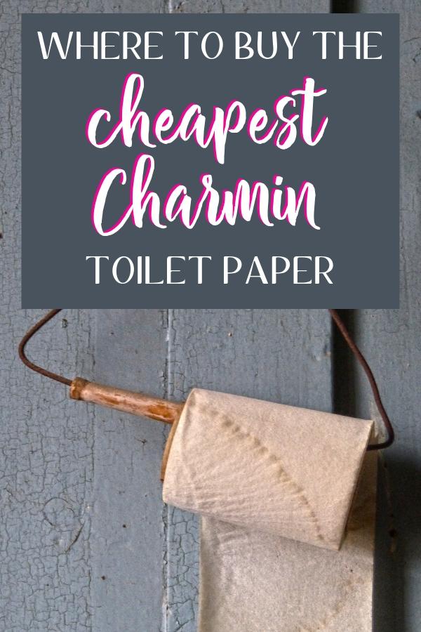 Cheapest Charmin toilet paper