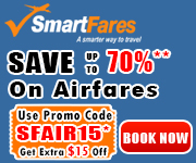 Cheap Ticket Sale! Save Up To 70% & Get $15 Off. Use Coupon Code SFAIR15
