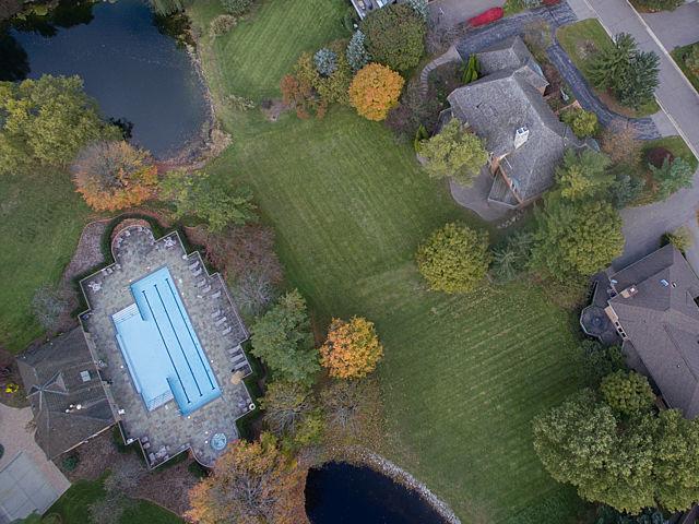 aero dji 0272 Aretha Franklins Bloomfield Township Home Hits the Market