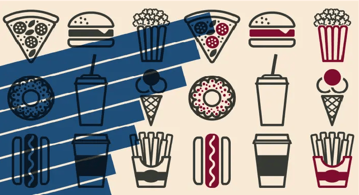 Tastes in charts: how does your nation or region like to eat?