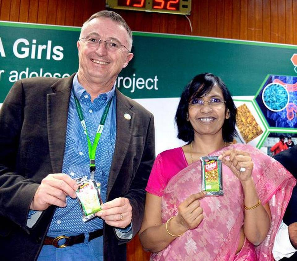 Nutrition boost for adolescent girls