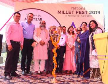 National millet fest held at AGC