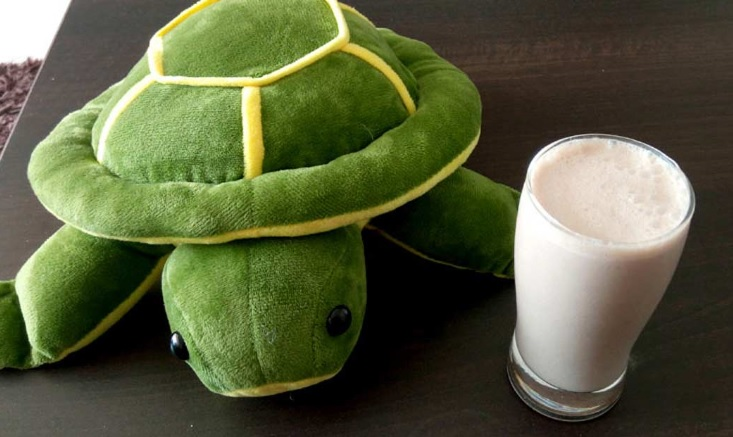 Nutritious ragi shake for kids…