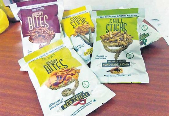 Hare Krishna Movement to launch millet snacks in Hyderabad