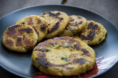 Foxtail Millet Patties