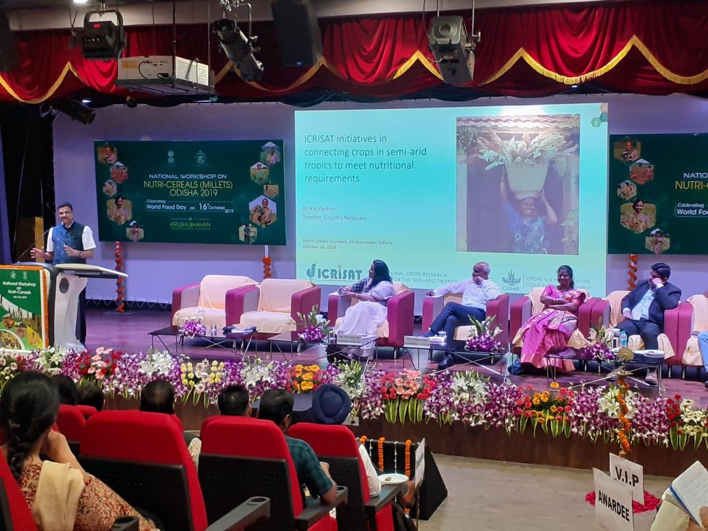 National Workshop on Nutricereals (Millets) 16 Oct 2019, Odisha