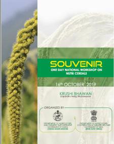 Taking a Smart Food Approach : Paper by Joanna Kane-Potaka @ One Day National Workshop on Nutri Cereals, Odisha