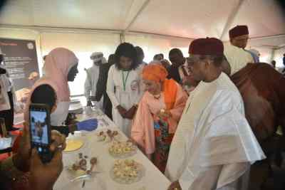 First Lady of Niger Leads Millet Movement