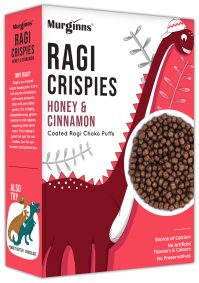 Ragi Crispies: Honey and Cinnamom by Murginns, KCL Ltd