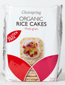 Organic Rice Cakes by Clear Spring