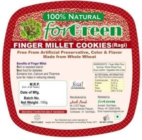Finger Millet Cookies by Joule Foods