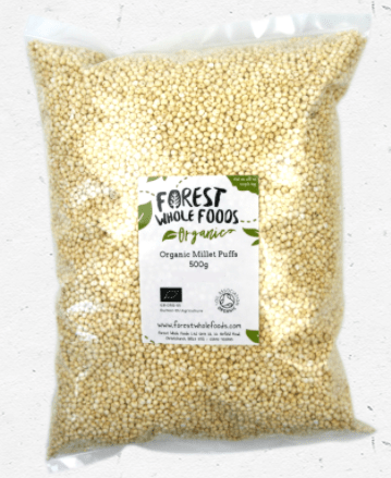 Organic Millet Puffs by Forest Wholefoods