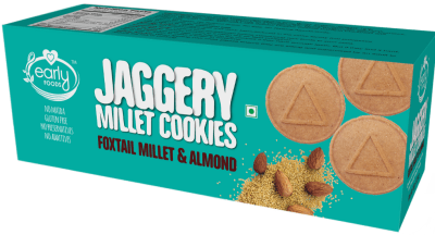 Millet Cookies Foxtail Almond by Early Foods