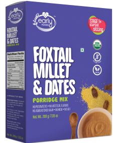 Foxtail Millet Dates Porridge Mix by Early Foods