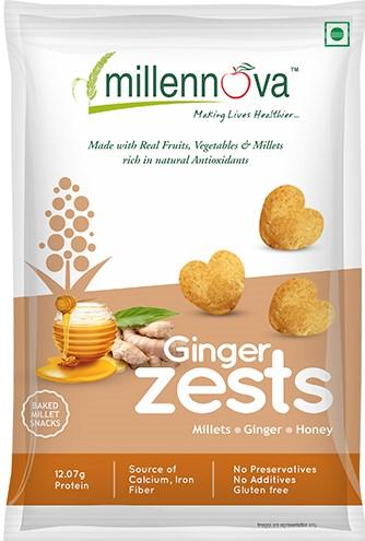 Ginger Zests by Millenova Foods