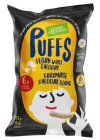 Vegan White Cheddar Puffs by Gogo Quinoa